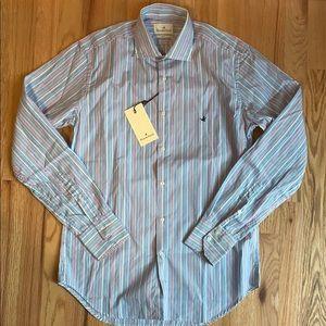 Men's Brooksfield Slim Fit Dress Shirt NWT